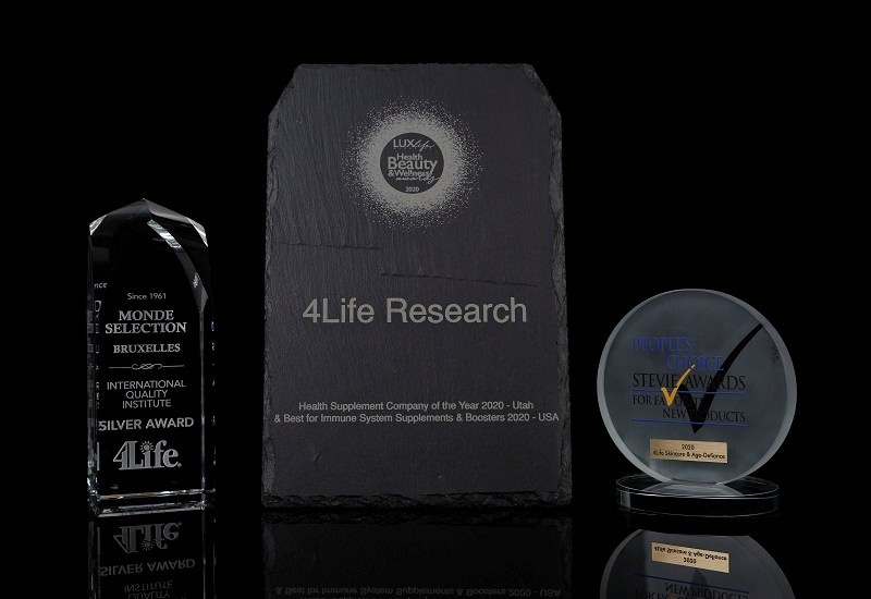 Награды компании 4Life